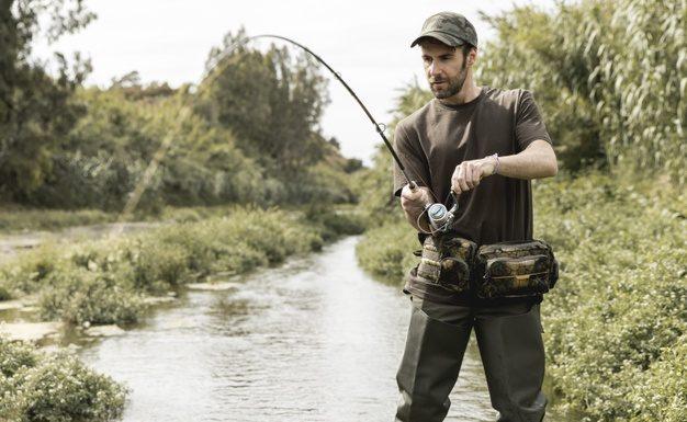 Waders giver en bedre oplevelse på fisketur